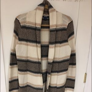 Old Navy Super Long Open Front Cardigan.
